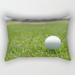 Golf Ball Rectangular Pillow