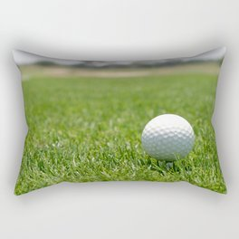 Golf Ball Rectangular Pillow