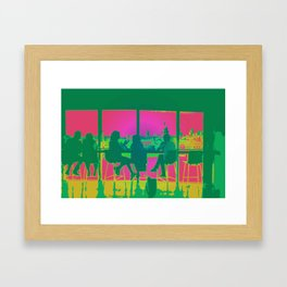 VIEW FROM THE TATE MODERN  Framed Art Print