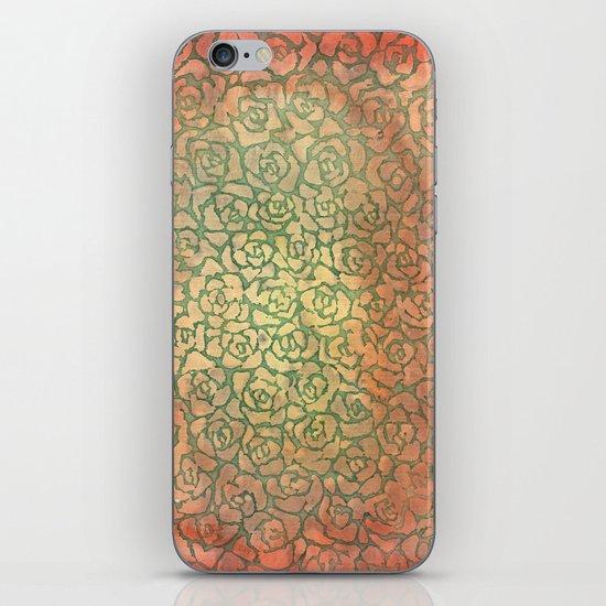 roses pattern iPhone & iPod Skin