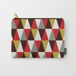 Midcentury harlequin pattern Carry-All Pouch
