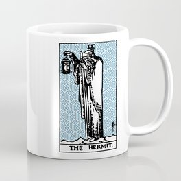 Geometric Tarot Print - The Hermit Coffee Mug