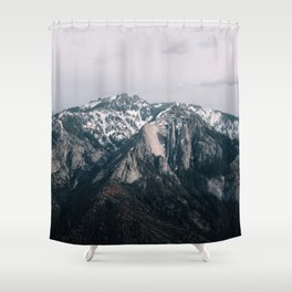 Mountains in Sequioa Shower Curtain