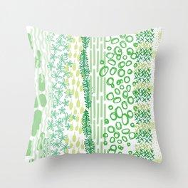 Spring Palette Throw Pillow