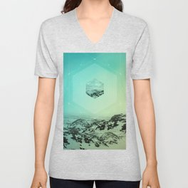 A Place Called Elsewhere Unisex V-Neck