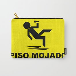 Cuidado Piso Mojado WORLD TOUR Carry-All Pouch