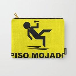 Cuidado Piso Mojado WORLD TOUR Carry-All Pouch