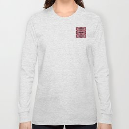 Snowflake in Reds Long Sleeve T-shirt