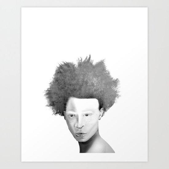 AlBINO  Art Print