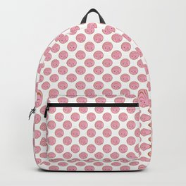 Pink Concha Pan Dulce (Mexican Sweet Bread) Backpack
