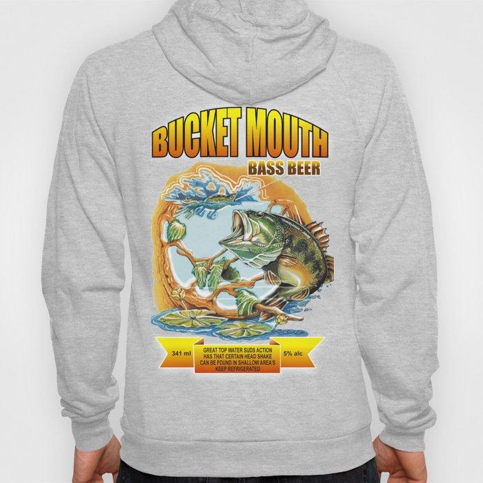 Bucket Mouth Bass Beer Hoody