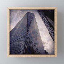 Freedom Tower Framed Mini Art Print
