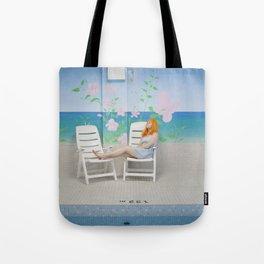 holly as me (indoor pool) Tote Bag