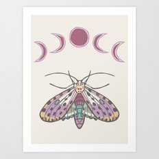 Gypsy Wings Art Print