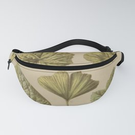 Victorian Botanical Fanny Pack