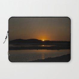Orange Sun Laptop Sleeve