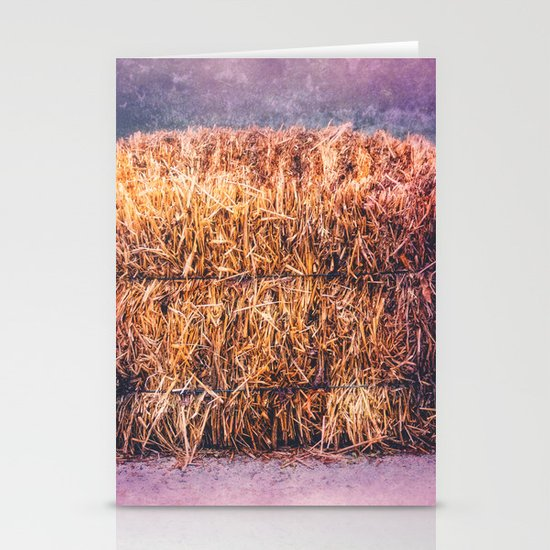 A TWIST ON HAY Stationery Cards