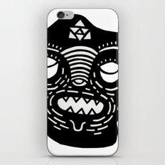 stencil face iPhone & iPod Skin