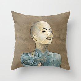 SeaBorn Gold Struck #1 Throw Pillow