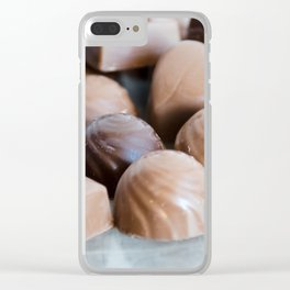 Chocolate 5 Clear iPhone Case