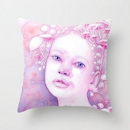 Infectious Innocence Throw Pillow