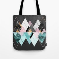 nordic Tote Bags featuring Nordic Seasons by Elisabeth Fredriksson