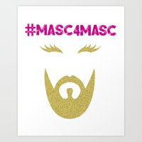 #MASC4MASC Art Print