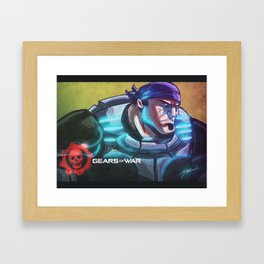 Marcus Fenix Framed Art Print