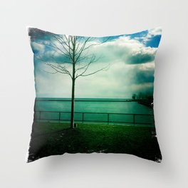 Coronation park Throw Pillow
