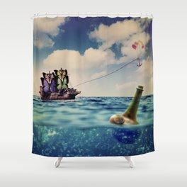 Take My Dream Away  Shower Curtain