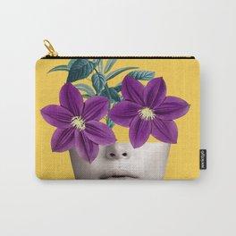 Floral Portrait 2 Carry-All Pouch