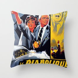 The Diabolical Doctor Mabuse Throw Pillow