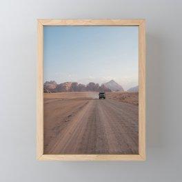 Fellow traveller Framed Mini Art Print