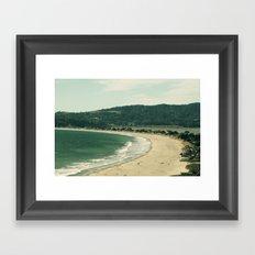 Stinson Beach Framed Art Print