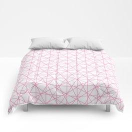 isometric pink Comforters