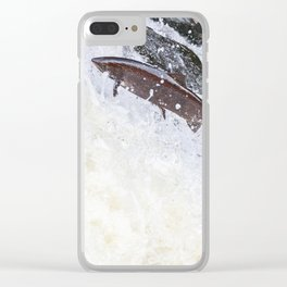 The big fish Clear iPhone Case