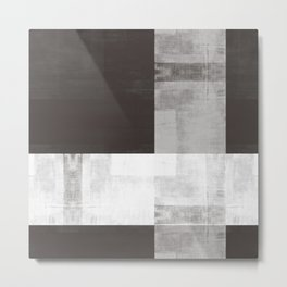 Case Study No. 24 | Espresso + White Metal Print