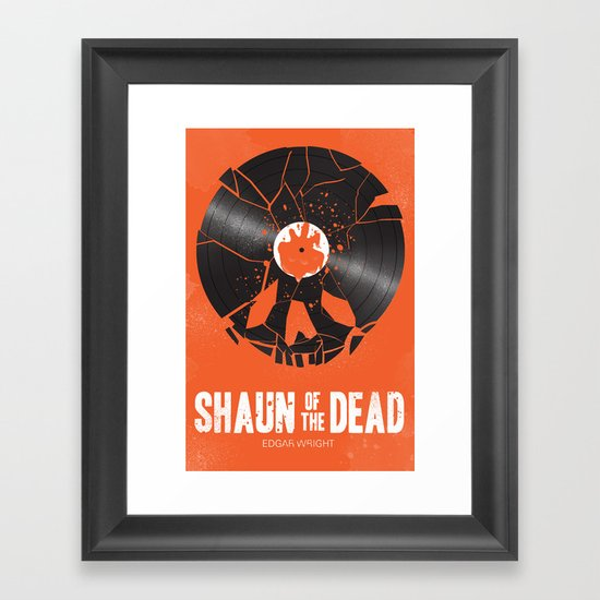 Shaun of the dead Framed Art Print