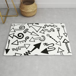 Arrow Doodles Rug