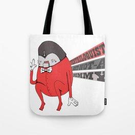 Ventriloquist Tote Bag