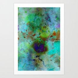 cool colors Art Print