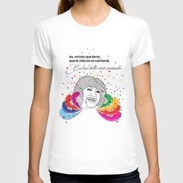 La Vida Es Un Carnaval T-shirt