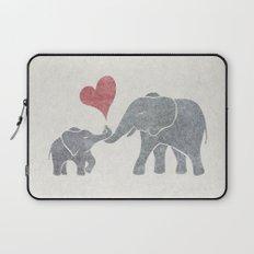 Elephant Hugs Laptop Sleeve