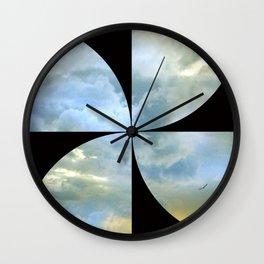 solo flight: circa 1966 Wall Clock