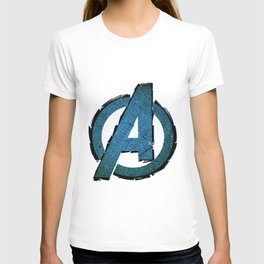 UNREAL PARTY 2012 AVENGERS LOGO FLYERS T-shirt