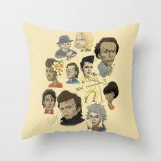 I LOVE MUSIC Throw Pillow