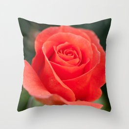 Pretty peach Throw Pillow