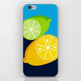 Lemon and Lime iPhone Skin