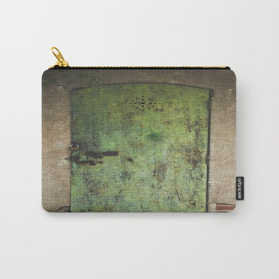 Rusty Green Door Carry-All Pouch