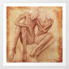 Being... Art Print